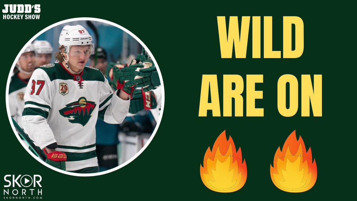 Kirill Kaprizov and Kaapo Kähkönen are delivering for Minnesota Wild!  📺: