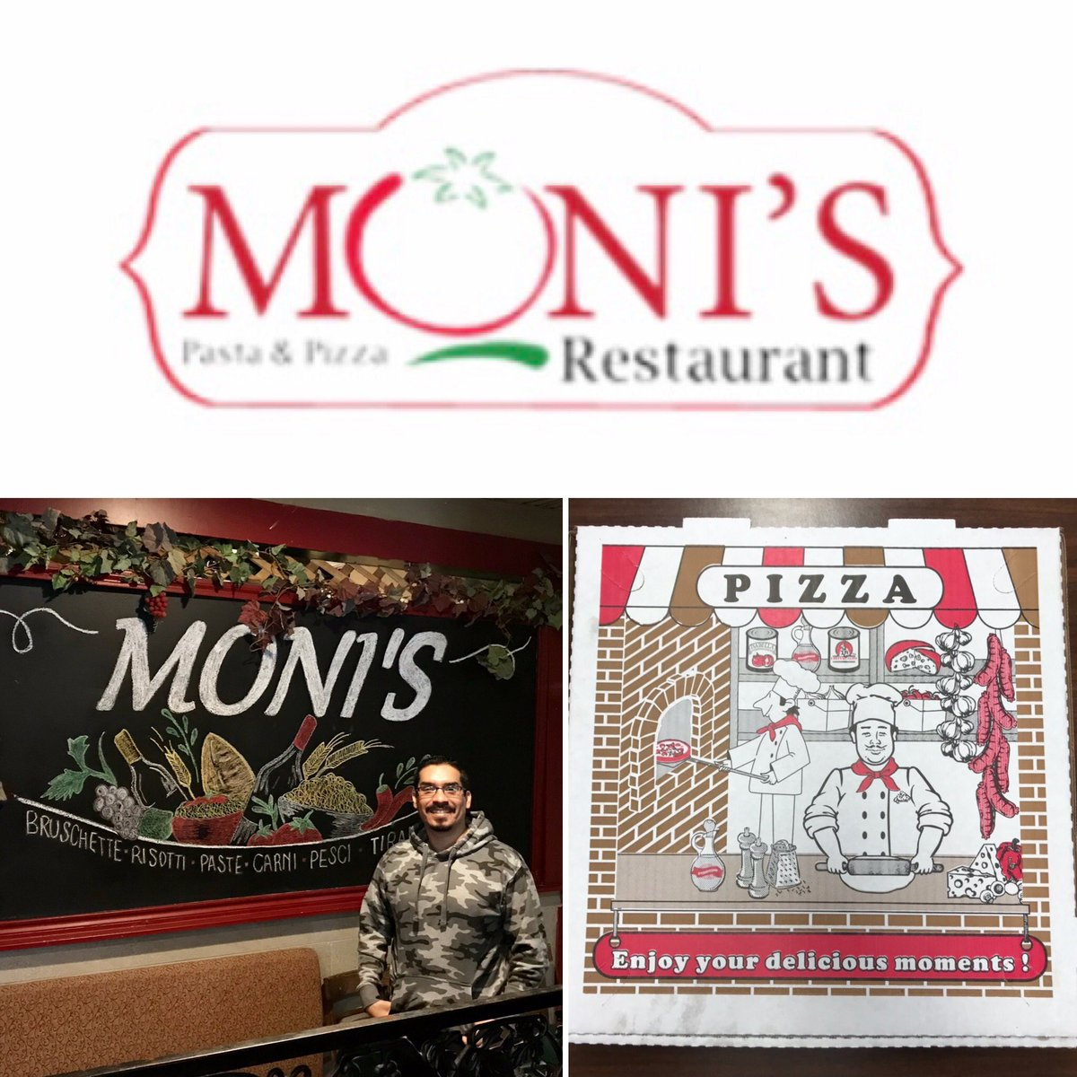 Supporting Small Business Saturday!  Thank you Moni's Pasta & Pizza for today's team lunch! The food was delicious! 👍🏽  We know you and your family work hard for your business!  #smallbusinesssaturday #pizza #lunch #myagentrodolfo #insuranceagent #statefarm #insurance