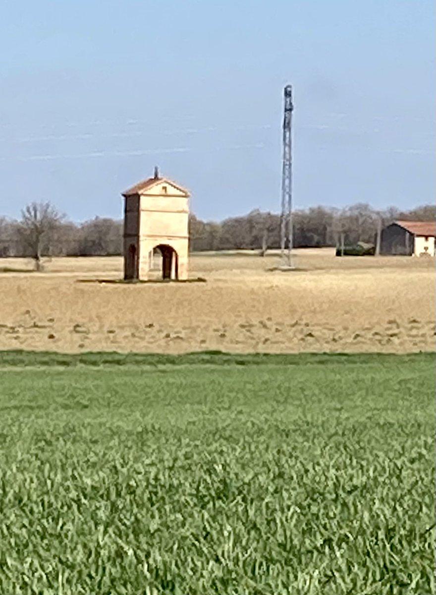 Géométrie des paysages et douceur printanière #MagnifiqueFrance #Occitanie  #lauragais #Occitanietourisme #nature #NaturePhotography