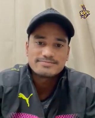 """""""I'm really excited and happy to be a part of the #KKR family"""" - @iampawannegi   Welcome to the family 💜  #KKR #HaiTaiyaar"""
