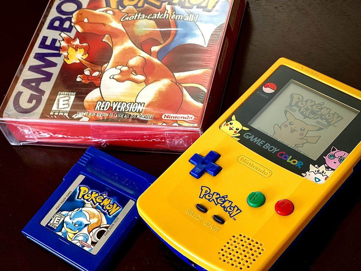 You had to be there.......(yes the US release was 2 years later) #PokemonDay  #Pokemon25 #kanto #pokemon