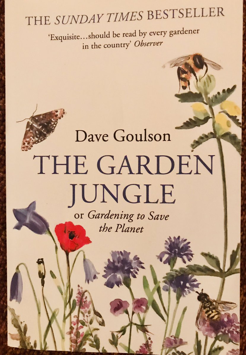 Join the #NewForestBigBeeRescue ! 🐝🦋🐛 Info here:  And as an aside, this book by Dave Goulson is a cracking read on what you can do to help #wildlife in your garden. #environment #nature #gardening #newforest
