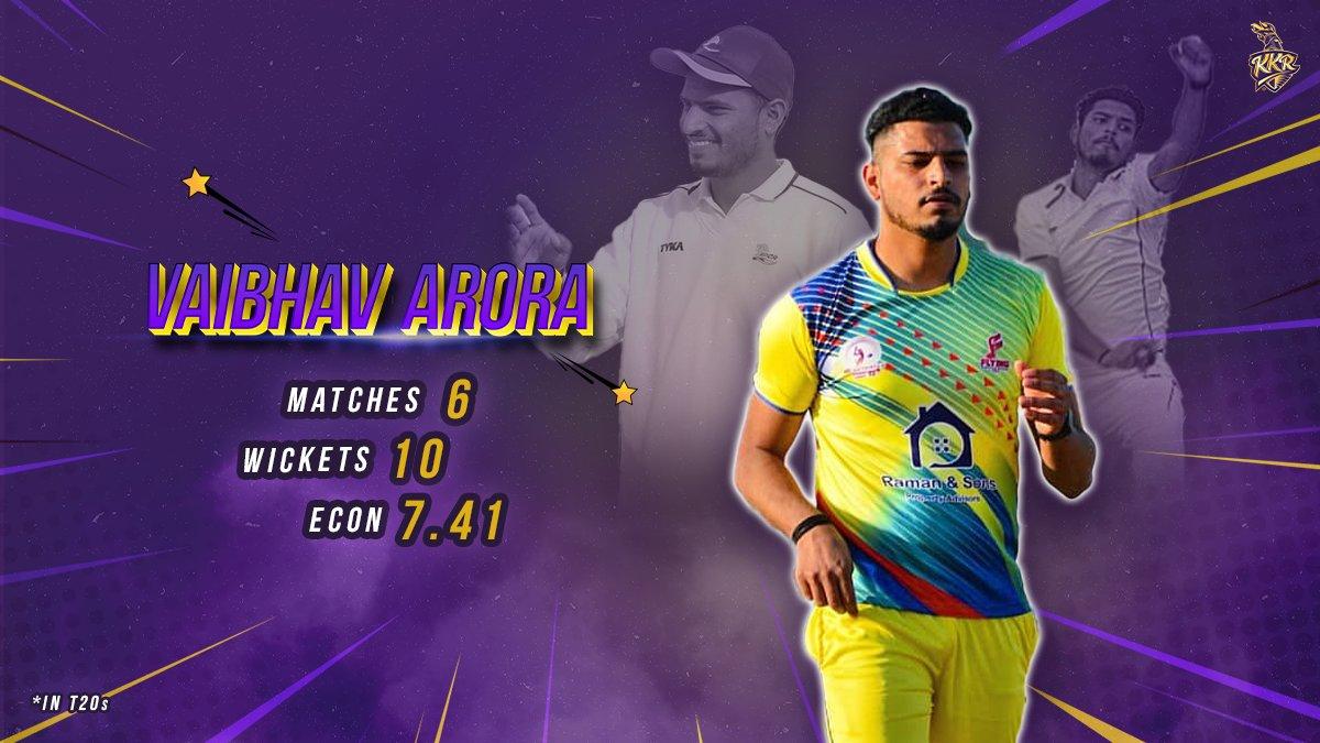 Causing havoc amongst the batsman with his inswingers, #VaibhavArora is all set for the #IPL2021 💪🏻   #KKR #HaiTaiyaar