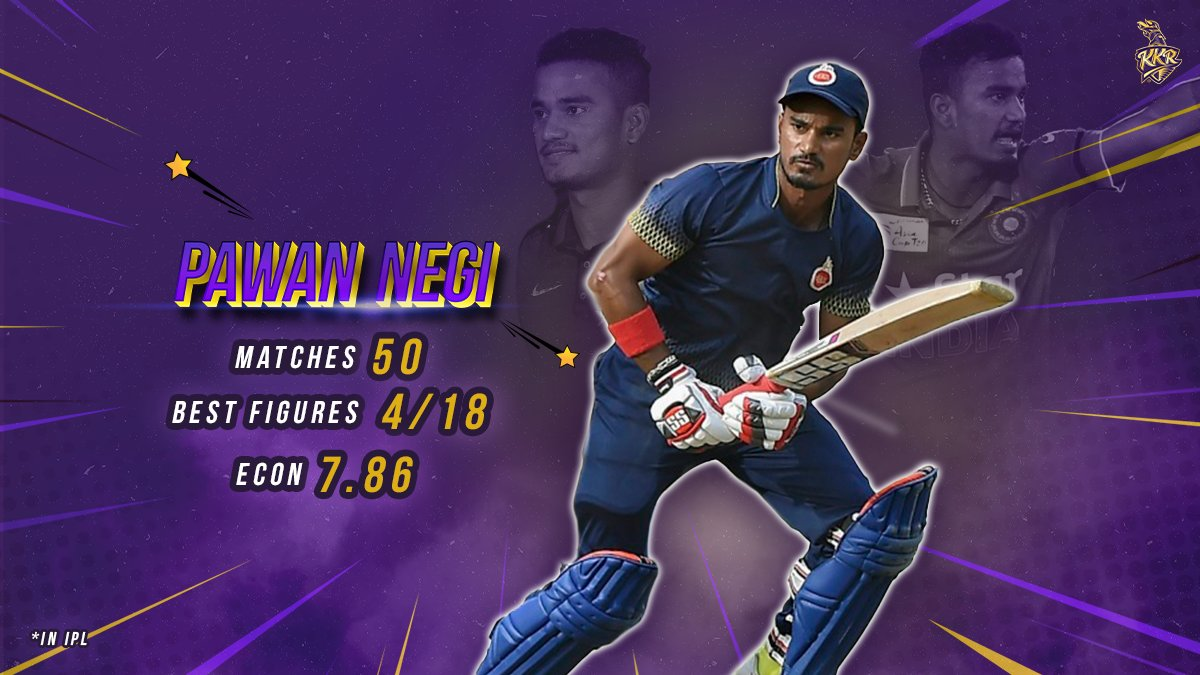 He can bat, he can bowl and he can fly on the ropes 🔥  @iampawannegi is ready to fire with the Knights in #IPL2021  #KKR #HaiTaiyaar