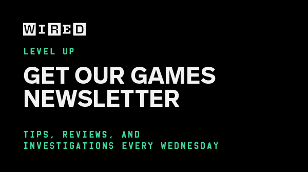So yeah! A little weekend reading for the ~ g a m e r s ~ out there. And of course, if you like what we do, subscribe to the @WIRED Games newsletter! I'd love to see you there, and I send it out every Wednesday packed with stories like this!