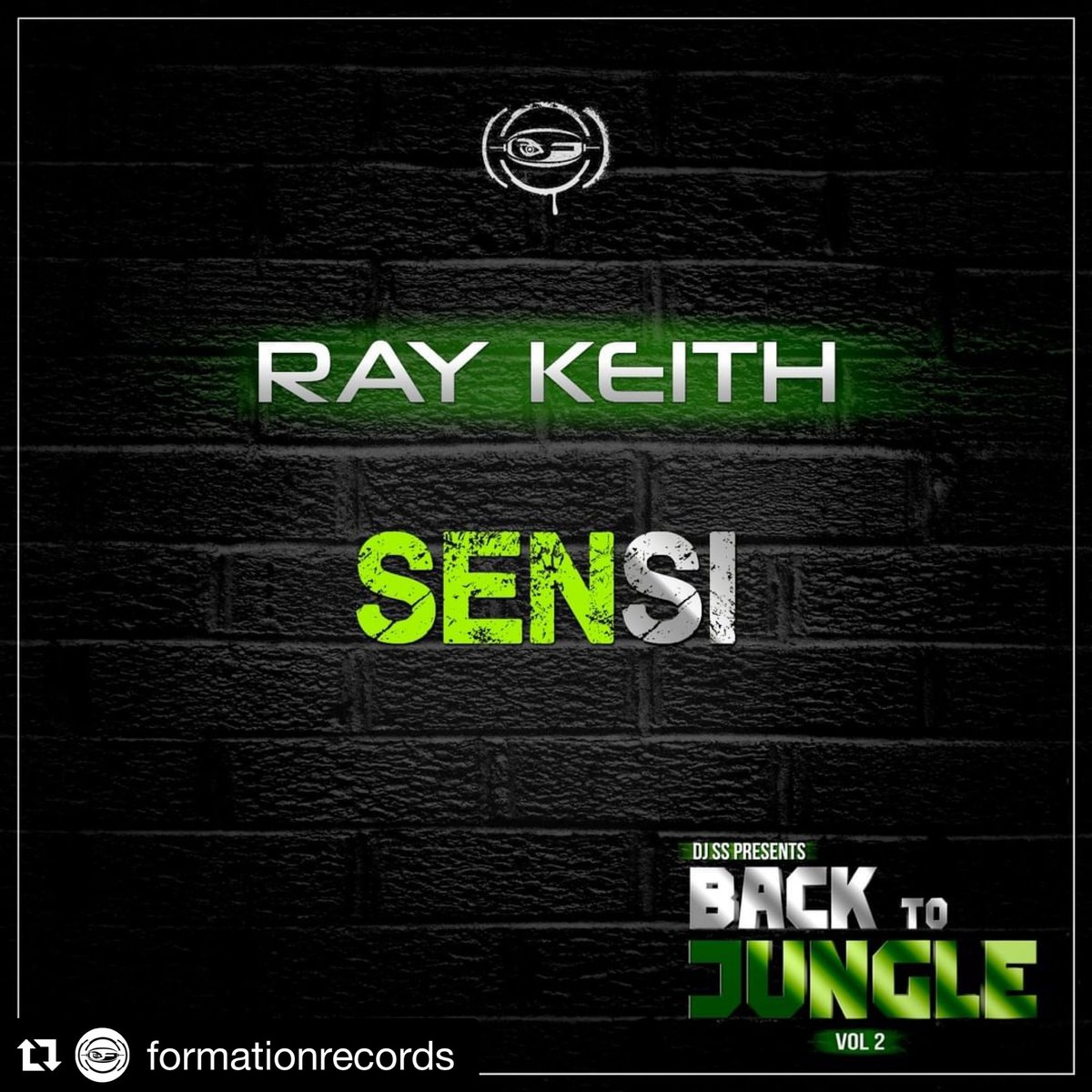 Who's ready for another BIG tune on Formation? 🔊  Back to Jungle Vol 2 is a heck of an LP... 🌴 🤩  Ray Keith - Sensi (Out 26/3/2021)  Be one of the first to listen here >    #dnb #jungle #Junglemusic #drumnbass