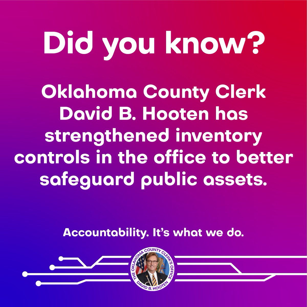 Keeping Oklahoma County safe and secure🔒 #OklahomaCounty #Oklahoma #OKC #Edmond #MidwestCity #Choctaw #DelCity #Luther #Arcadia #NicholsHills #Innovation #Business #PhotoOfTheDay #Photo #PicOfTheDay #Accountability #Transparency #Efficiency #LocalGovernment #CountyGovernment