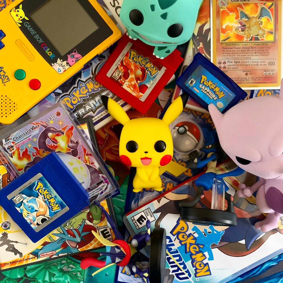 Happy Pokémon day!! I hope everyone is enjoying catching them all for 25 years!! @Pokemon @OriginalFunko #PokemonDay