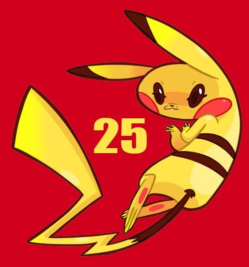 Happy #PokemonDay!! ⚡️  Cheers to GameFreak & 25 years of #Pokemon.  . . #pokemon25 #ポケモン #pikachu