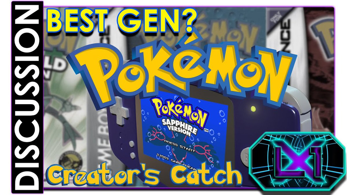 Funny you should mention that! I did a video on how much I love this Gen! If you love these games as much I do, give it a look! #PokemonDay #Pokemon25 #GameBoy