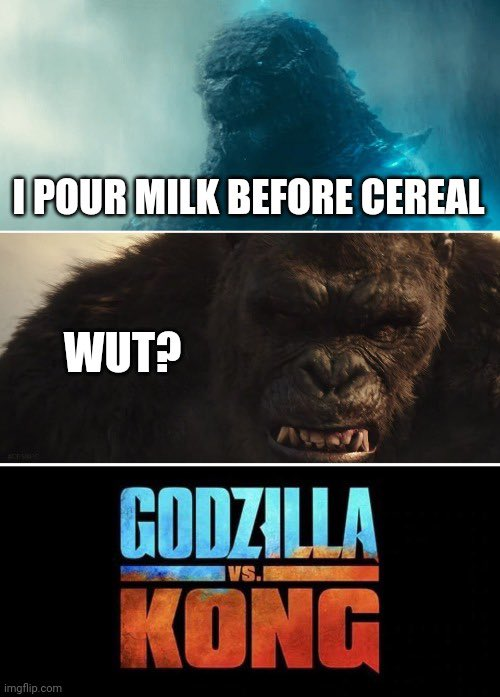 This is what Godzilla and Kong are really fighting about.  #GodzillaVsKong  @GodzillaVsKong