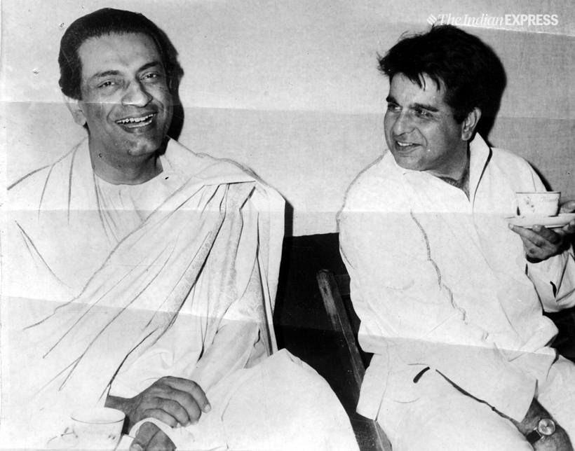 #SatyajitRay and #DilipKumar Indian cinema's two brightest stars.   @TheDilipKumar