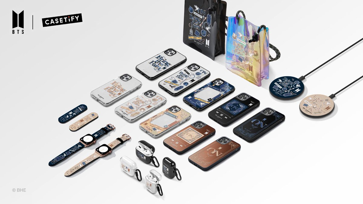 [February 2021] Newly Launched Licensed Products! BTS | @Casetify Music Theme Tech Accessories available worldwide