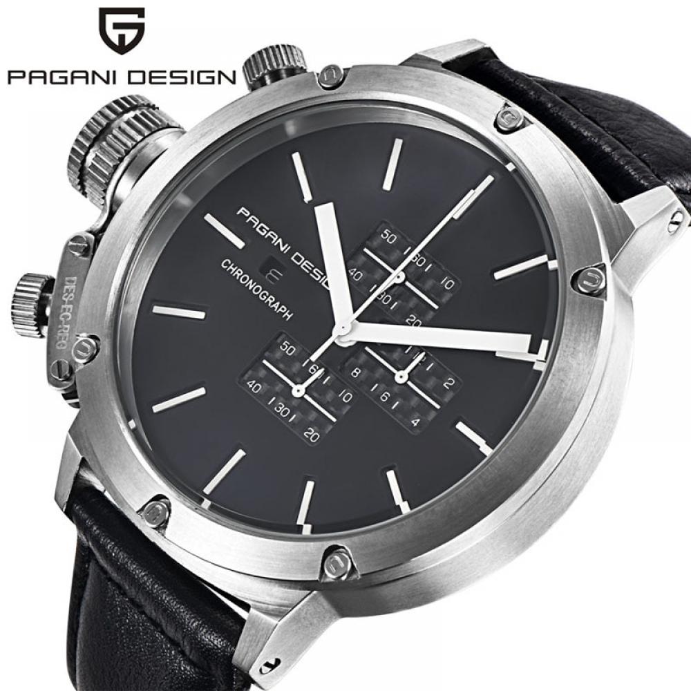 #home Relogio Masculino 2016 Luxury Brand PAGANI DESIGN Quartz-Watch Men Unique Innovative Sport Watches Multifunction Dive Clock Men