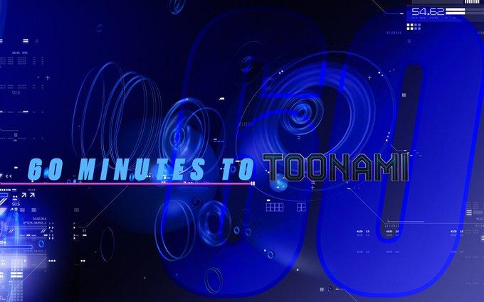 #Toonami begins in 60 minutes.