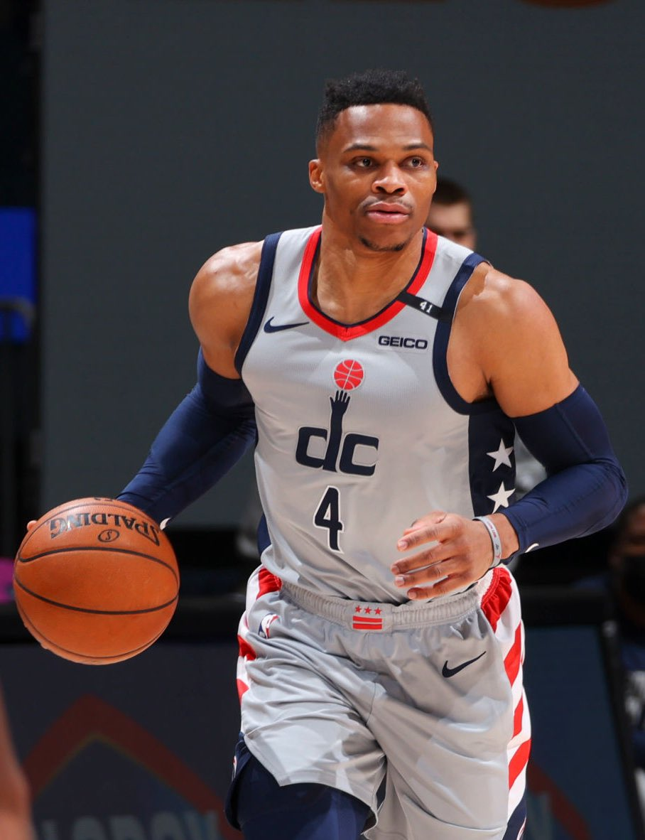Russell Westbrook's last 5 games:   19 PTS - 14 REB - 11 AST 16 PTS - 10 REB - 10 AST 20 PTS - 9 REB - 10 AST 32 PTS - 14 REB - 9 AST 27 PTS - 11 REB - 13 AST  Wizards 4-1 🔥