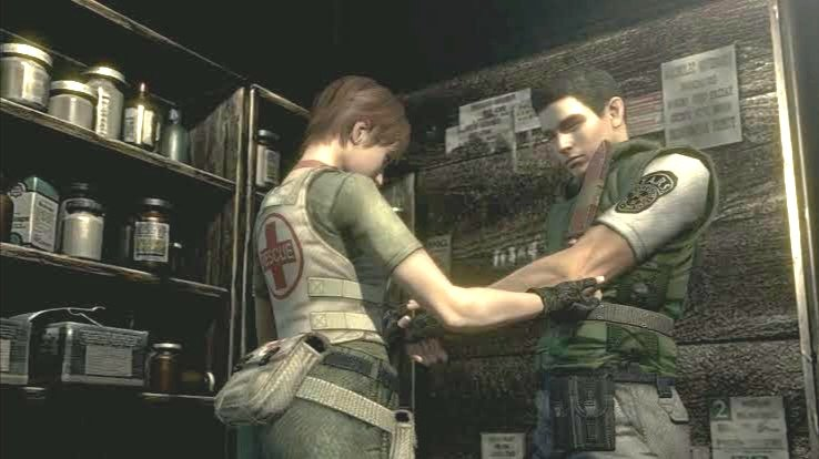 Chris x Rebecca. But ValenField is still the best and wholesome ❤️. #residentevil #residentevilvillage #chrisredfield #rebeccachambers @dev1_official