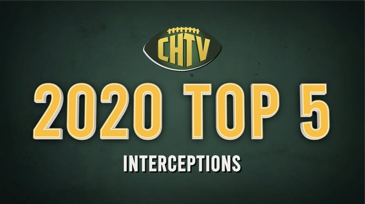 Green Bay Packers 2020 Top 5 Interceptions  #Packers #GoPackGo
