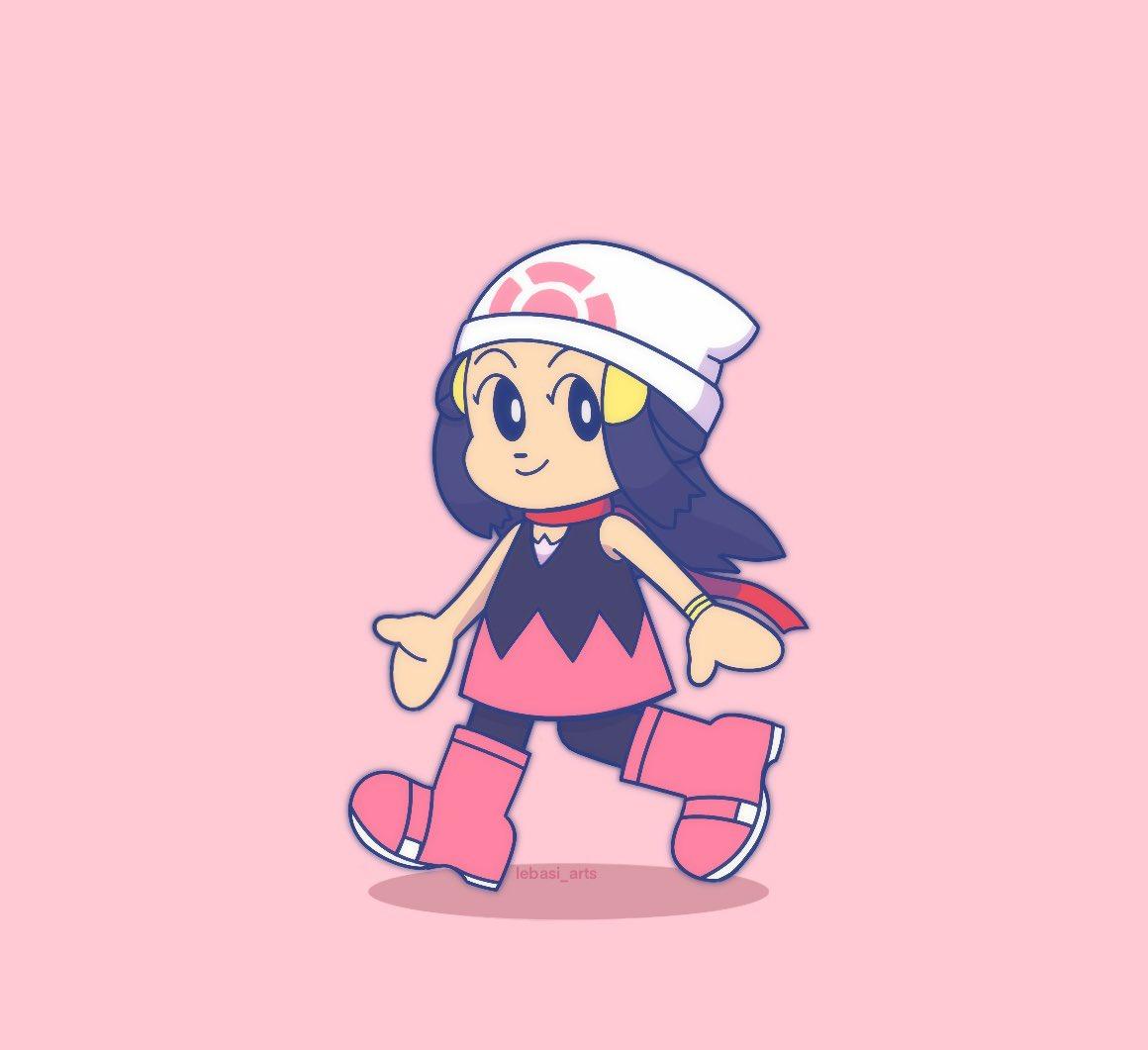 She's off to kick ass all over again, mini sized 🥺🤧  #fanart #Pokemon25 #pokemon #SinnohRemakes