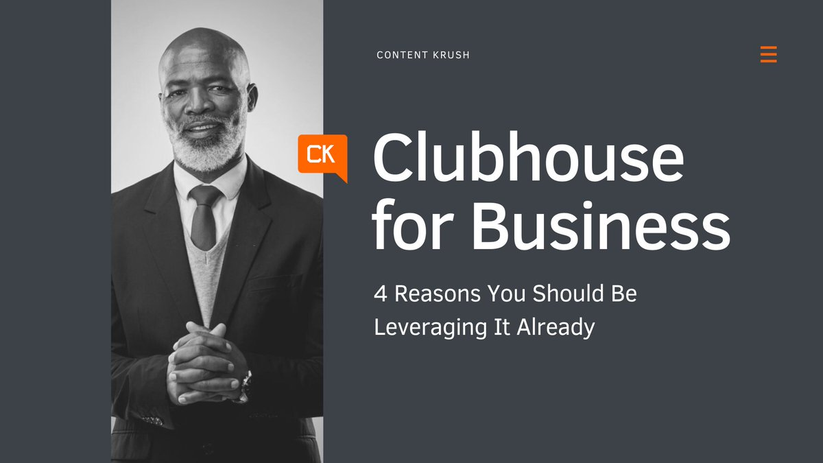 Clubhouse for Business: 4 Reasons You Should Engage Millennials on It.   #Business #Marketing #digital #socialmedia #millennials  RT @Obadeyemi