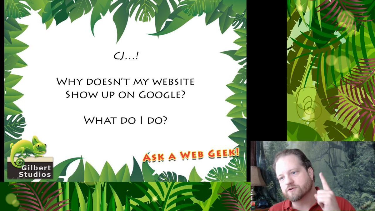 In Ep36, CJ shares a few ideas to help get your website and business listed on Google!   #AskAWebGeek #WebsiteWednesday #smallbusiness #businesstips #business101 #startups #startuptips #workfromhomedad #marketing #sales #customerservice #SanDiego