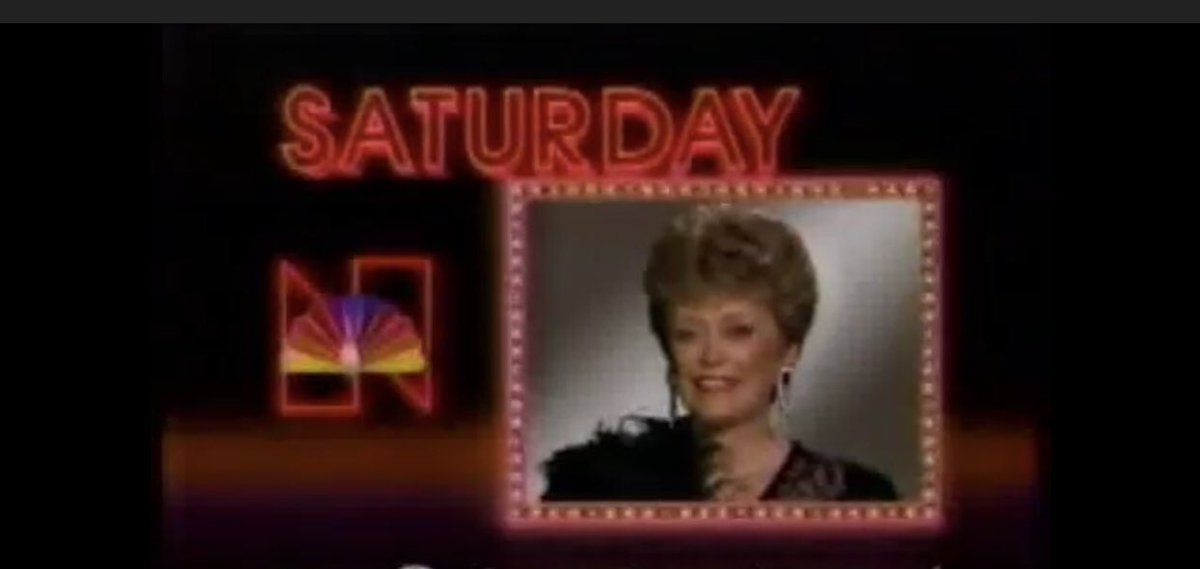 """""""NBC, Let's All Be There!"""" — #GoldenGirls"""