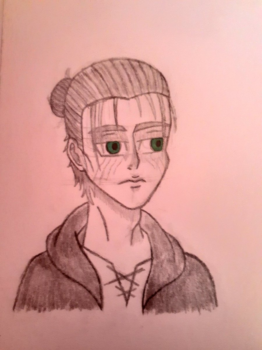 Eren Jaeger Sketch #drawing #anime #ErenJaeger #ShingekiNoKyojin #AttackOnTitan #AttackonTitanFinalSeason