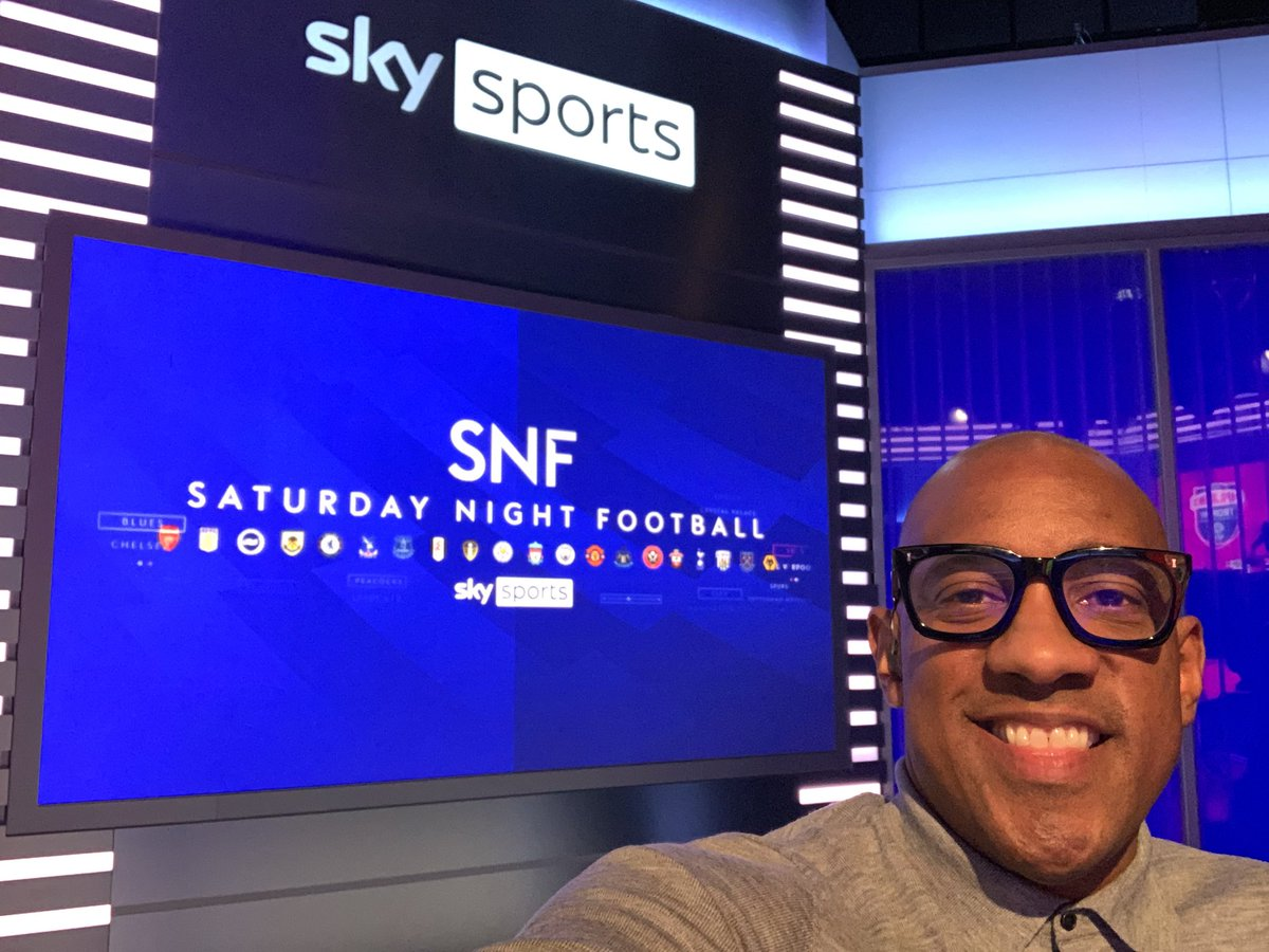 Great to see ya @jermainebecks83 enjoyed it tonight pal.....all marshalled by @KellyCates at the wheel! @SkySports @premierleague