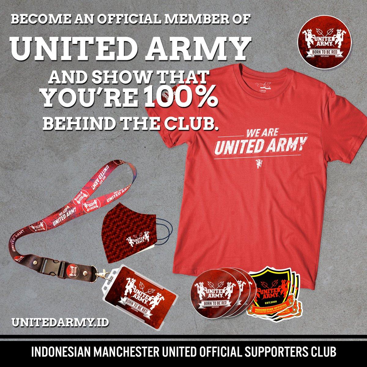 Join Us now!    #MUFC #UNITEDARMYID