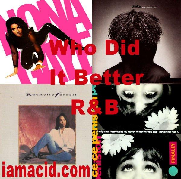 Who had the better album ? Nona Gaye Chaka Khan Rachelle Ferrell or CC Peniston #WDIB #QOTD #IAMACID #ACIDDA1 #WHODIDITBETTER #QUESTIONOFTHEDAY #ADMIRATION #SPLASH #ACID2779