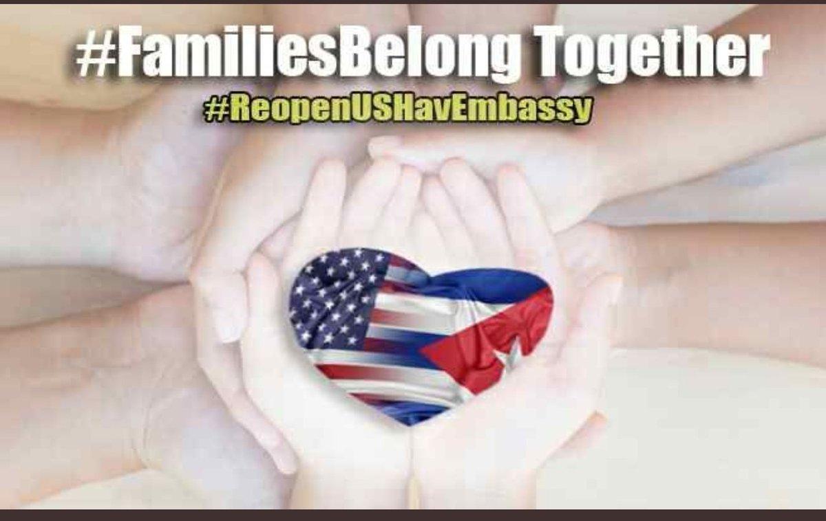 please we need an interest office in havana @CubanasEn @CubanParole @FamiliasCubanas @AliMayorkas @POTUS @FLOTUS #FamiliesBelongTogether #ReopenUSHavEmbassy #Cuba #ContinueCubanCFRP #NoBan #LasFamiliasCubanasImportan