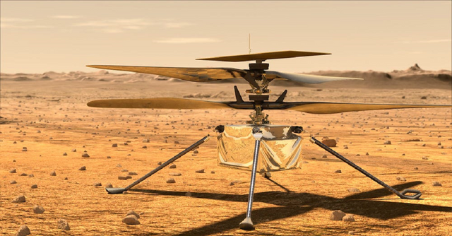 """""""This is the first time we'll be flying Linux on Mars"""" Tim Canham, NASA JPL senior engineer. Ingenuity, a small helicopter, will attempt the first powered flight on any planet other than Earth and it's running on #Linux. #CountdownToMars"""