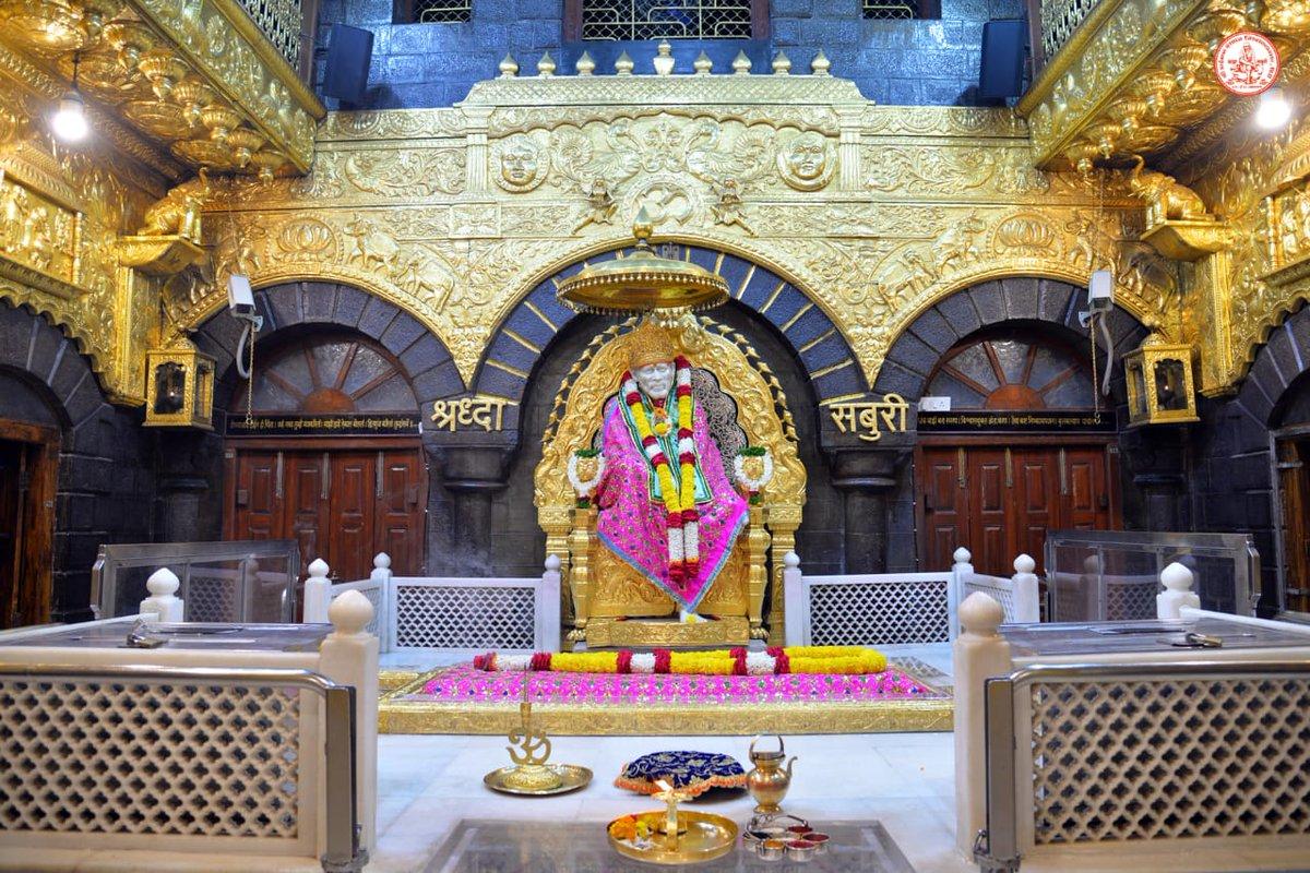 !! 🕉️ साई राम !!       श्री साईबाबा संस्थान विश्वस्त व्यवस्था,शिर्डी  आरती :- शिर्डी माझे पंढरपूर  रविवार दिनांक २८ फेब्रुवारी २०२१                               !! 🕉️ Sai Ram !! Shri Saibaba Sansthan Trust, Shirdi Aarti :- Shirdi Majhe Pandharpur Sunday 28 February 2021