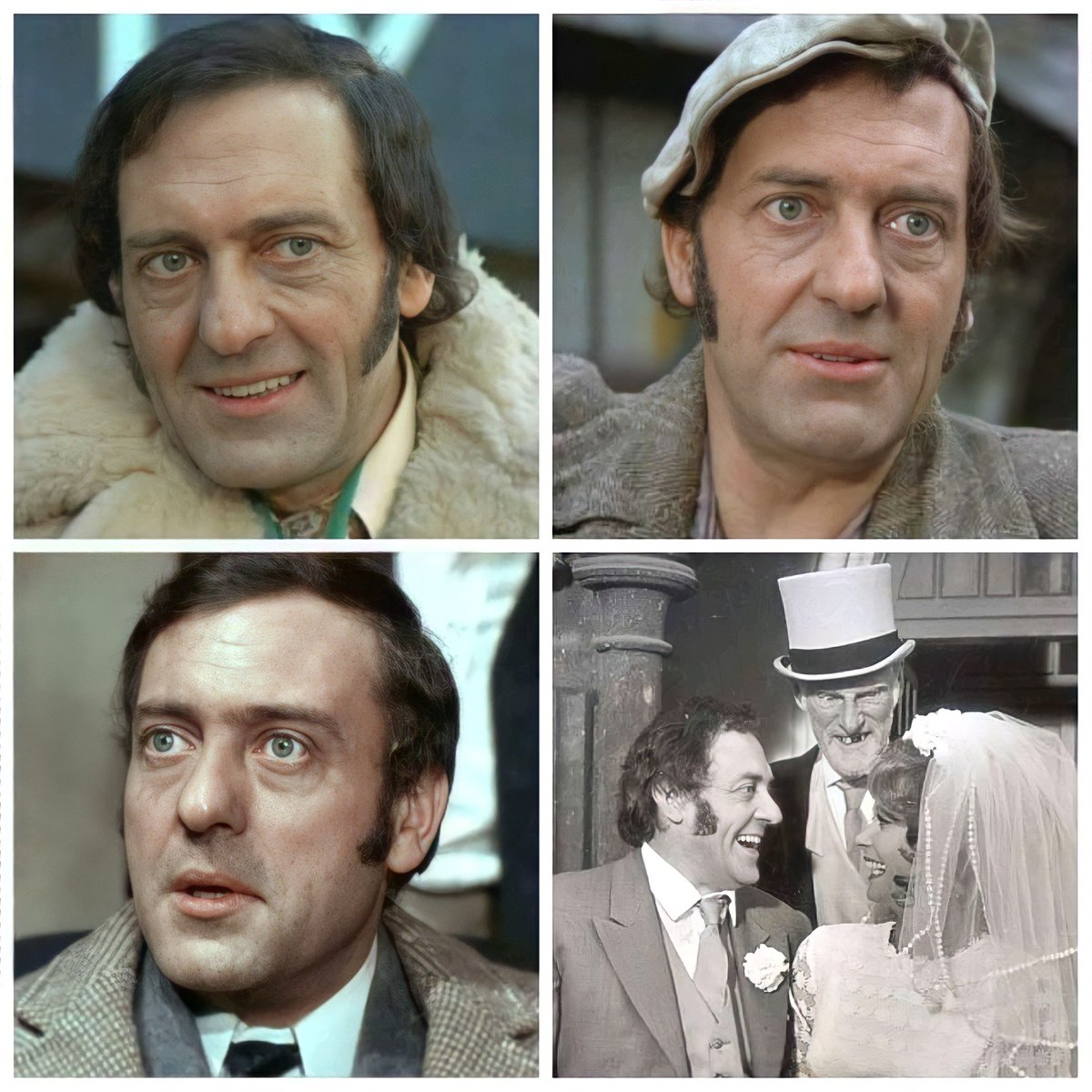 Replying to @Classicbritcom: Remembering the late Actor, Harry H. Corbett (28 February 1925 – 21 March 1982)