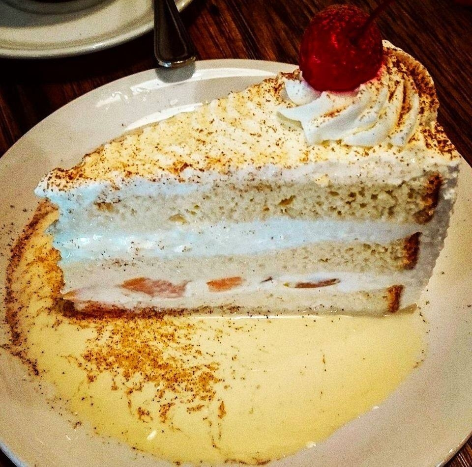 Spend Saturday with our tres leches cake!  #marthascountrybakery #tresleches #cake #desserts #sweet #delicious #tgif #fridayfeeling