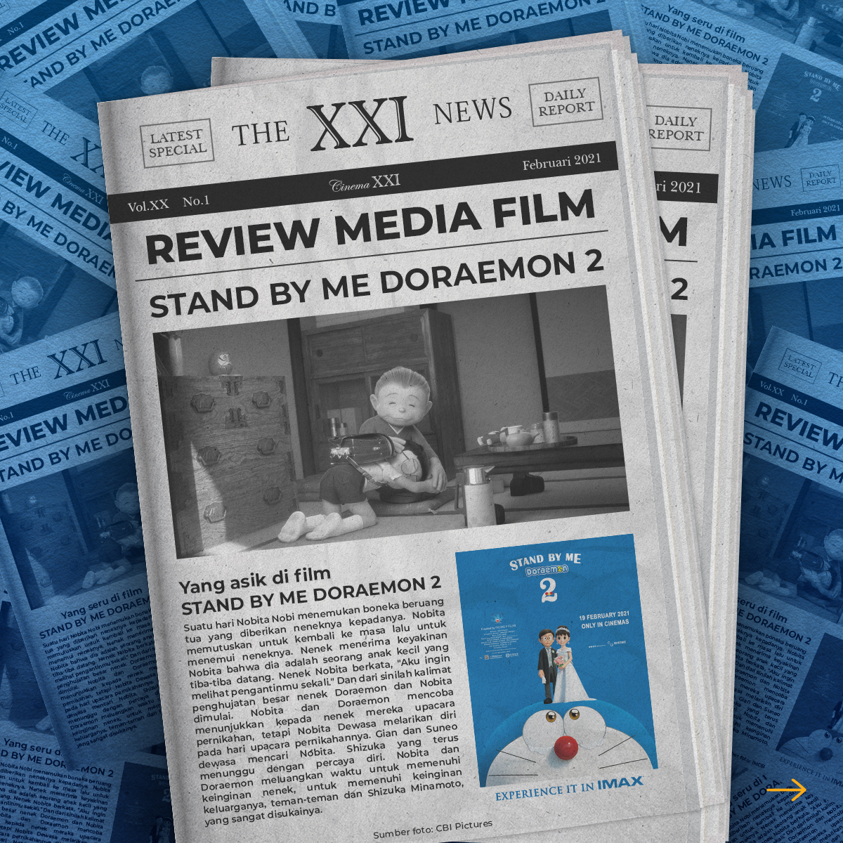 Siapa yang di sini udah nonton #StandByMeDoraemon2 nih? Menurut Sobat XXI gimana filmnya? Langsung reply!