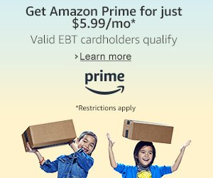 #RollTide Try Prime Discounted Monthly Offering
