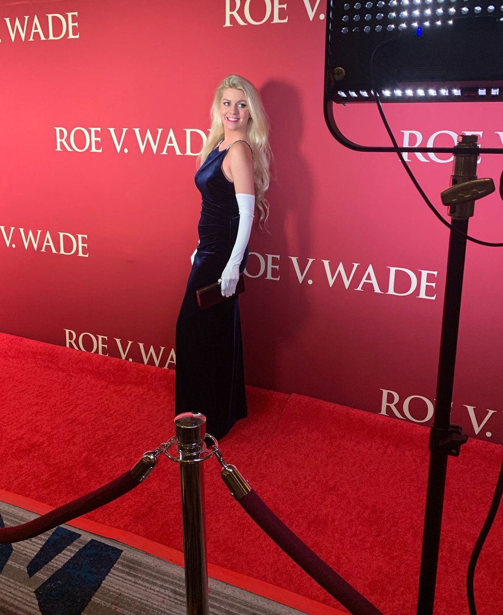 Walking the red carpet for our film @RoevWadeMovie Can't wait for all of you to see it—it's so unique & tells the true story behind #RoeVWade Starring @jonvoight & so many other talents, directed by @NickLoeb @CPAC #producer #blessed #lifeisbeautiful