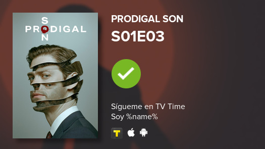I've just watched episode S01E03 of Prodigal Son! #prodigalson  #tvtime