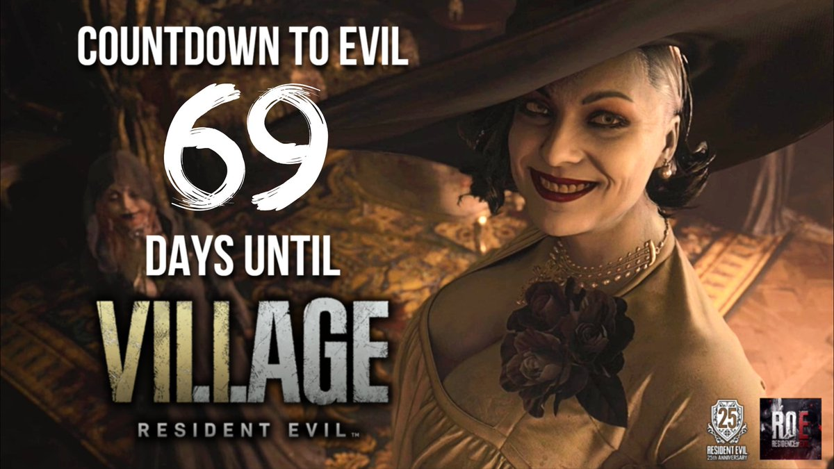 69 days to #ResidentEvilVillage!   Tonight, I'll post 2 more pages of Romero's #RE movie script!  Tomorrow will be another mods showcase!  More articles coming soon!  - Xander  Links to everything RoE:   #REBHFun #ResidentEvil8 #ResidentEvil8Village #RE8