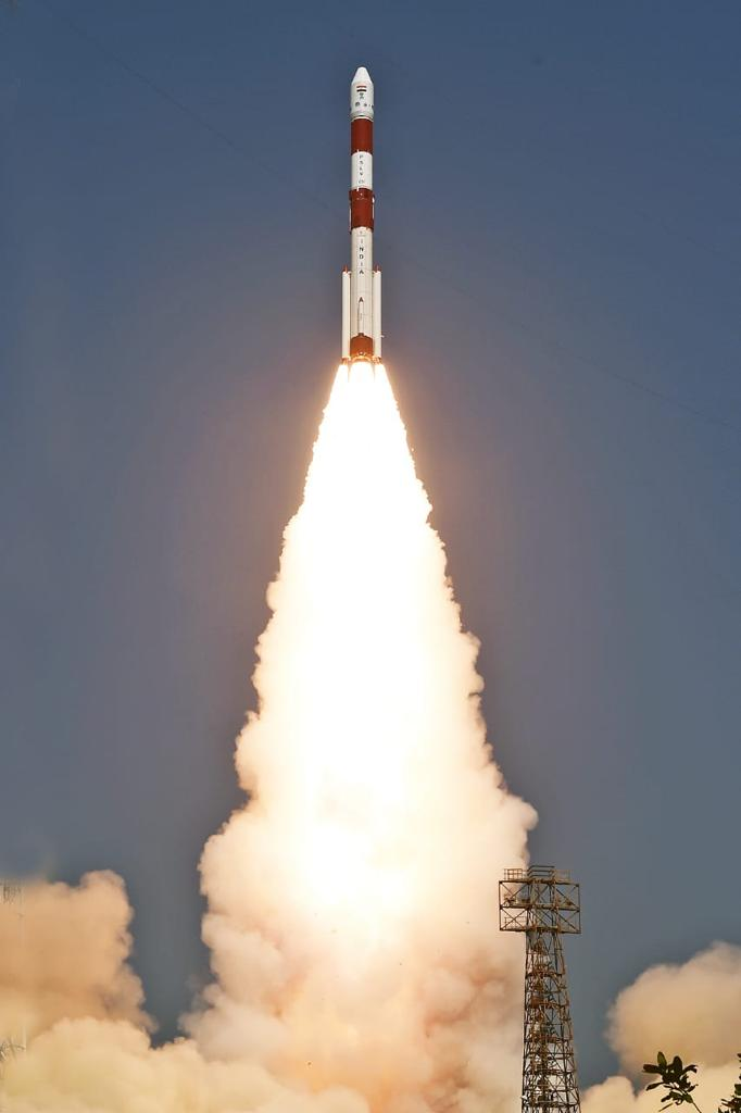 Congratulations to NSIL and @isro on the success of the 1st dedicated commercial  launch of PSLV-C51/Amazonia-1 Mission. This ushers in a new era of Space reforms in the country. 18 co-passengers included four small satellites that showcase dynamism and innovation of our youth.