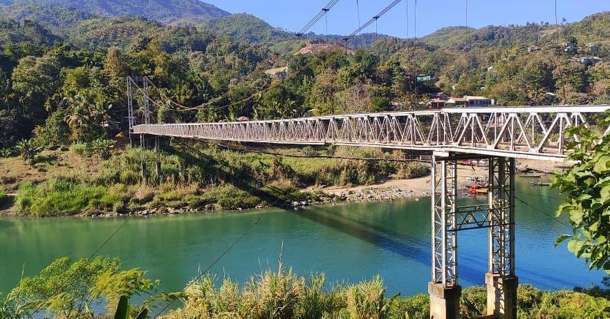 Tuipui D river bridge, Mizoram 📷 @dr.davidhbeihroly . . . #tuipui #tuipuid #bridge #lei #riverbridge #river #nature #water #mizoram #mizoraminsta #northeastIndia  📸  via