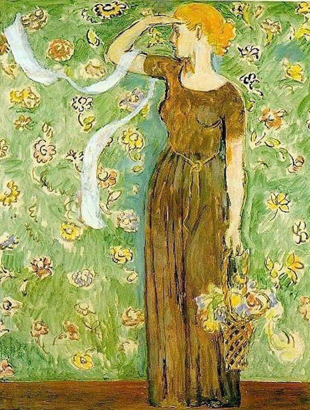 Vanessa Bell (British, 30 May 1879 – 7 April 1961) Virginia Woolf portrait, 1915  #vanessabell #british #artinfinitus  #artist #art #artwork #arthistory #artgallery #arte #kunst #stilllife #creative #inspiration #museum #nature #modernism #portrait #paris #france #light #shadow