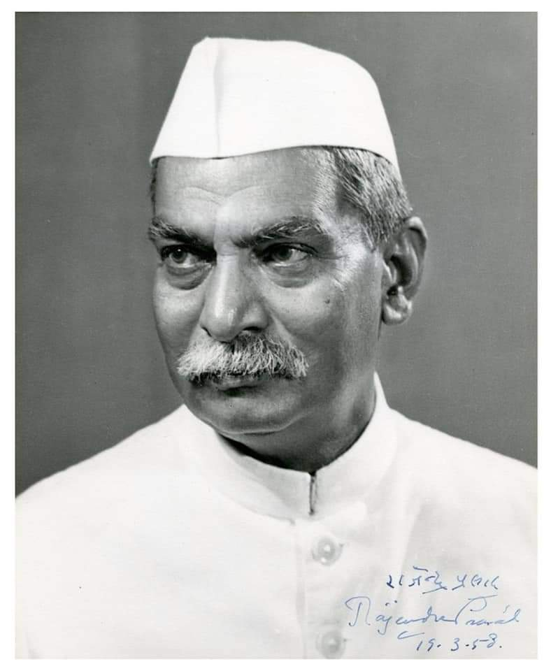 We pay tribute to one of our tallest freedom fighters, political stalwart & first President of Independent India Dr Rajendra Prasad Ji on his death anniversary.  #RajendraPrasadJayanti  #president  #SaveFarmers  #FarmersProtest  #PresidentOfIndia  #kisan
