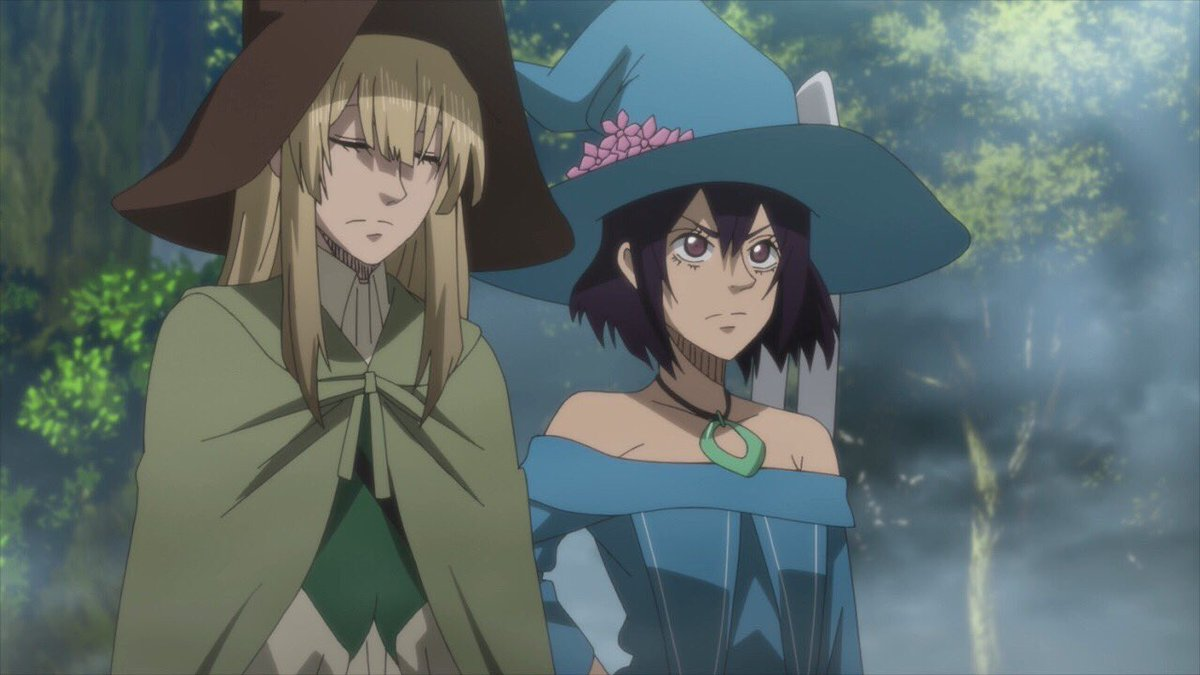 I appreciate these underachieving witch girls! #BlackClover #Toonami