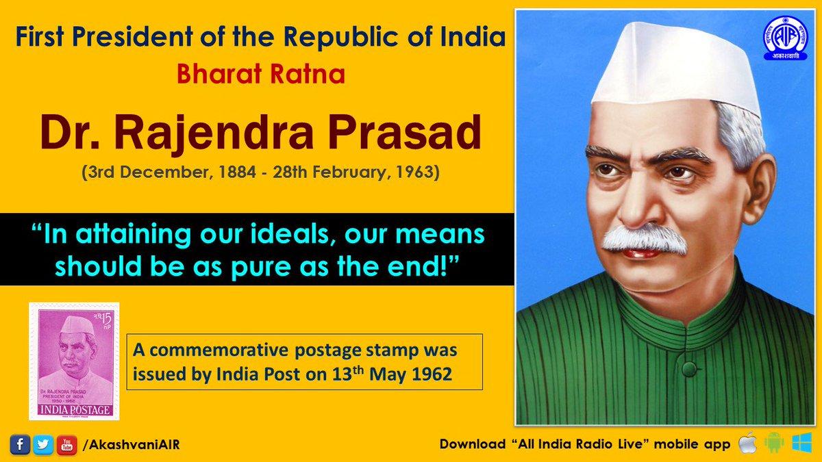 A Heartfelt tribute to #BharatRatna Laureate, the first #PresidentOfIndia, Dr. #RajendraPrasad on His Death Anniversary. 🙏🙏💐💐💐 @BJP4India @BJYM @narendramodi @AmitShah @smritiirani @BJP4Telangana @kishanreddybjp @bandisanjay_bjp @BJPITCellTS @Sagar4BJP @PradeepRao4BJP