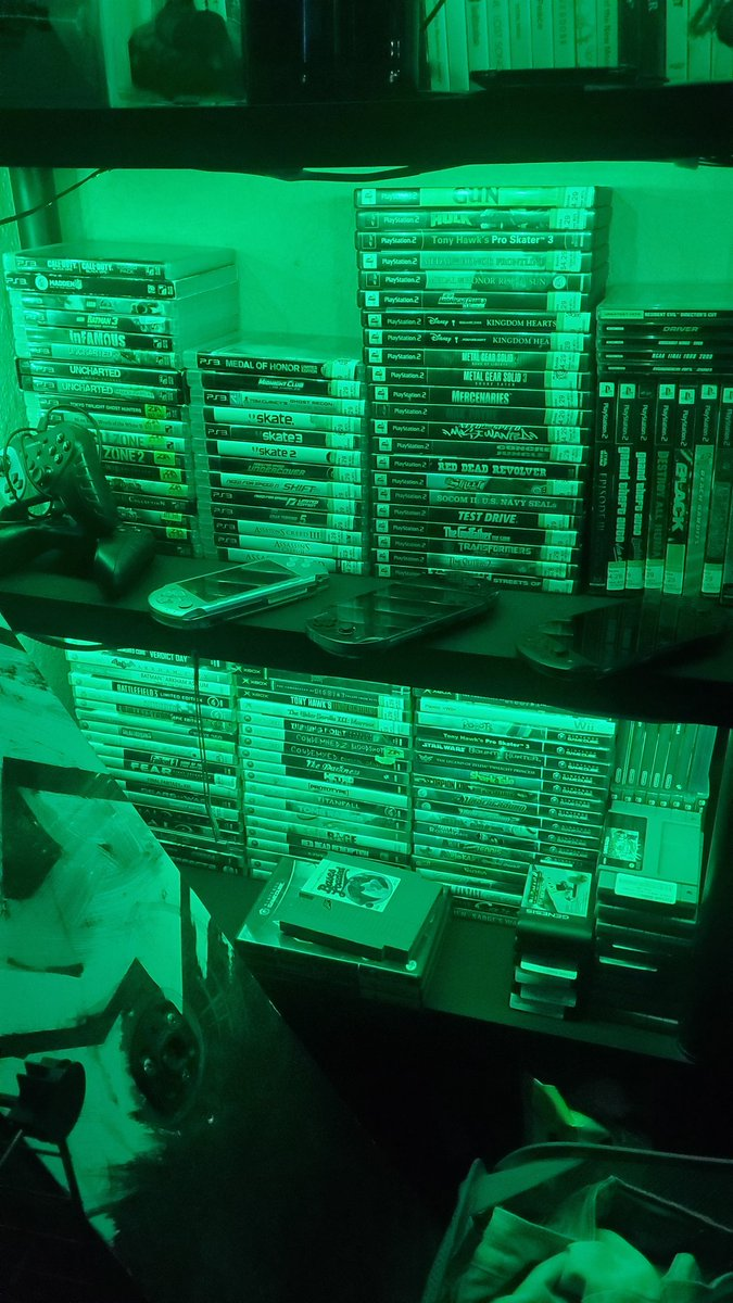 Shelf space is quickly becoming an issue for my game collections. How do you guys keep your collections nice and tidy #videogames #Collections #ps4 #ps2 #xbox #Gamecube  #retro