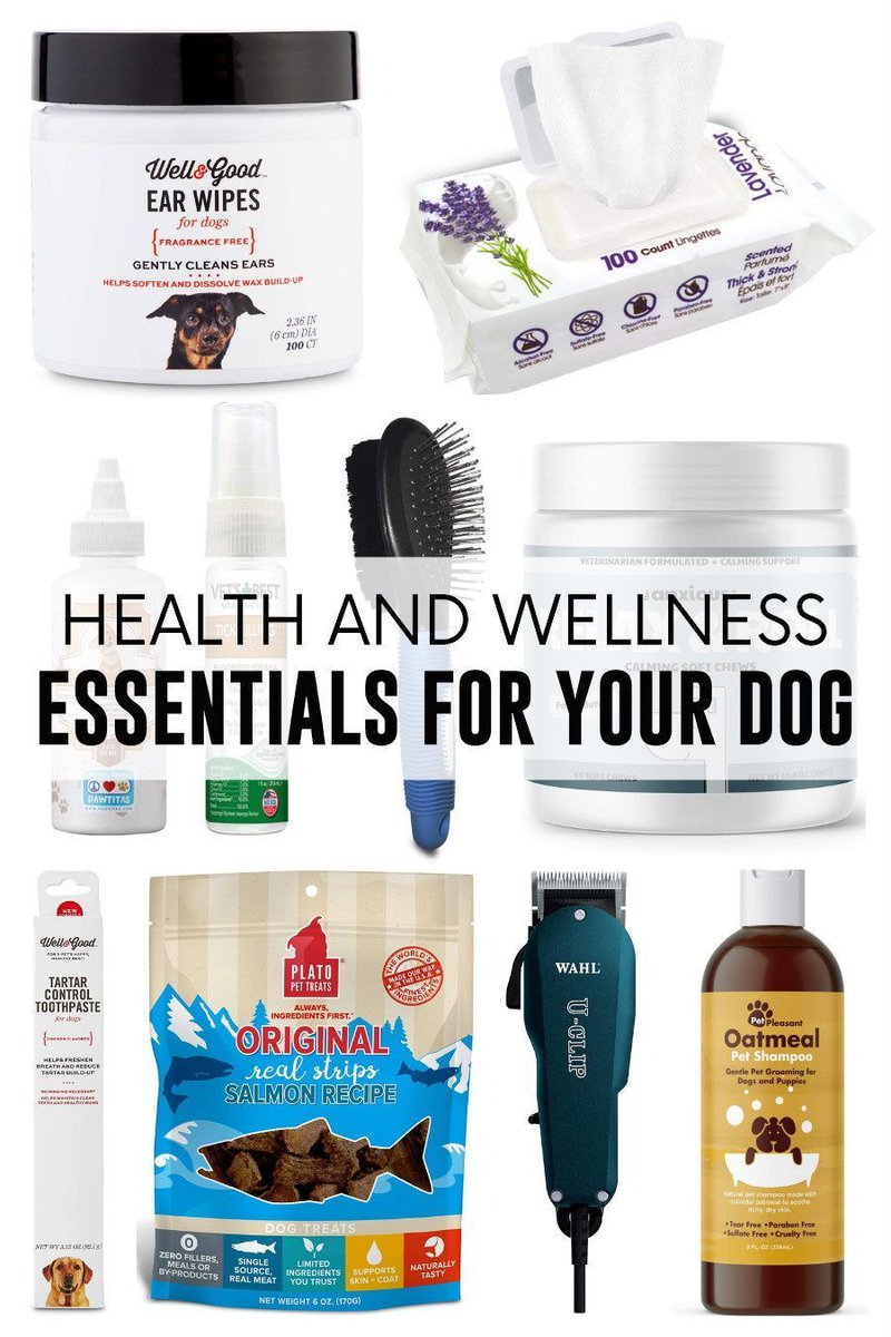 Introduce your #dog to a weekly wellness routine with these essentials that will keep them happy and healthy!  #pets #dogs #doglover #livinglavidapets