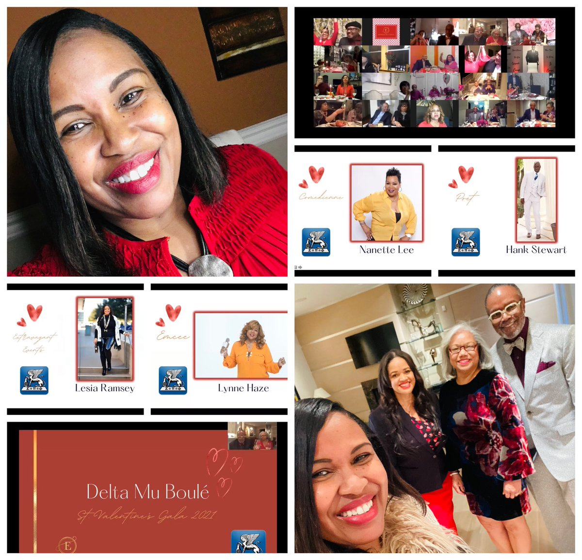 #LoveDelayed #TexasWinterStorm #LoveAlways #Extravagant #Event w/#Elite clientele! Thx @extravagantdfw for entrusting me as #VirtualEventProducer for #DeltaMuBoule #SigmaPiPhi #FortWorth chapter's #ValentinesDay Gala! 30 couples online! #ProducedByEva #IMessenger #TexasMetroNews