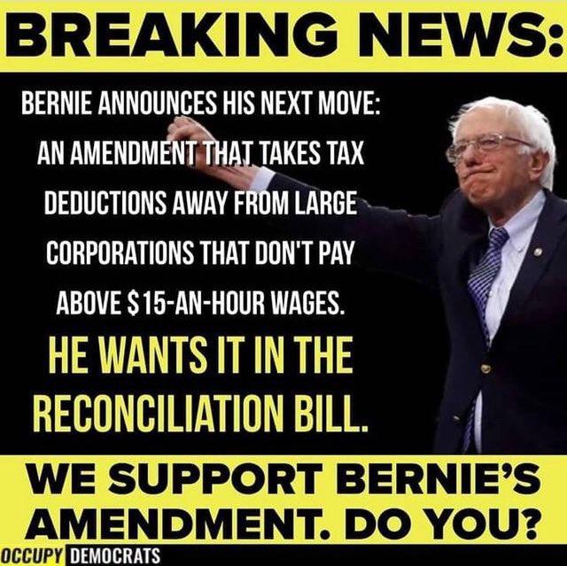 #Democrats #EndTheFilibuster #GOP #BernieSanders #Biden #CovidReliefBill